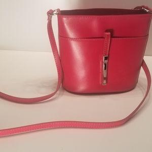 New Markese, Vera Pelle Crossbody Purse. Leather